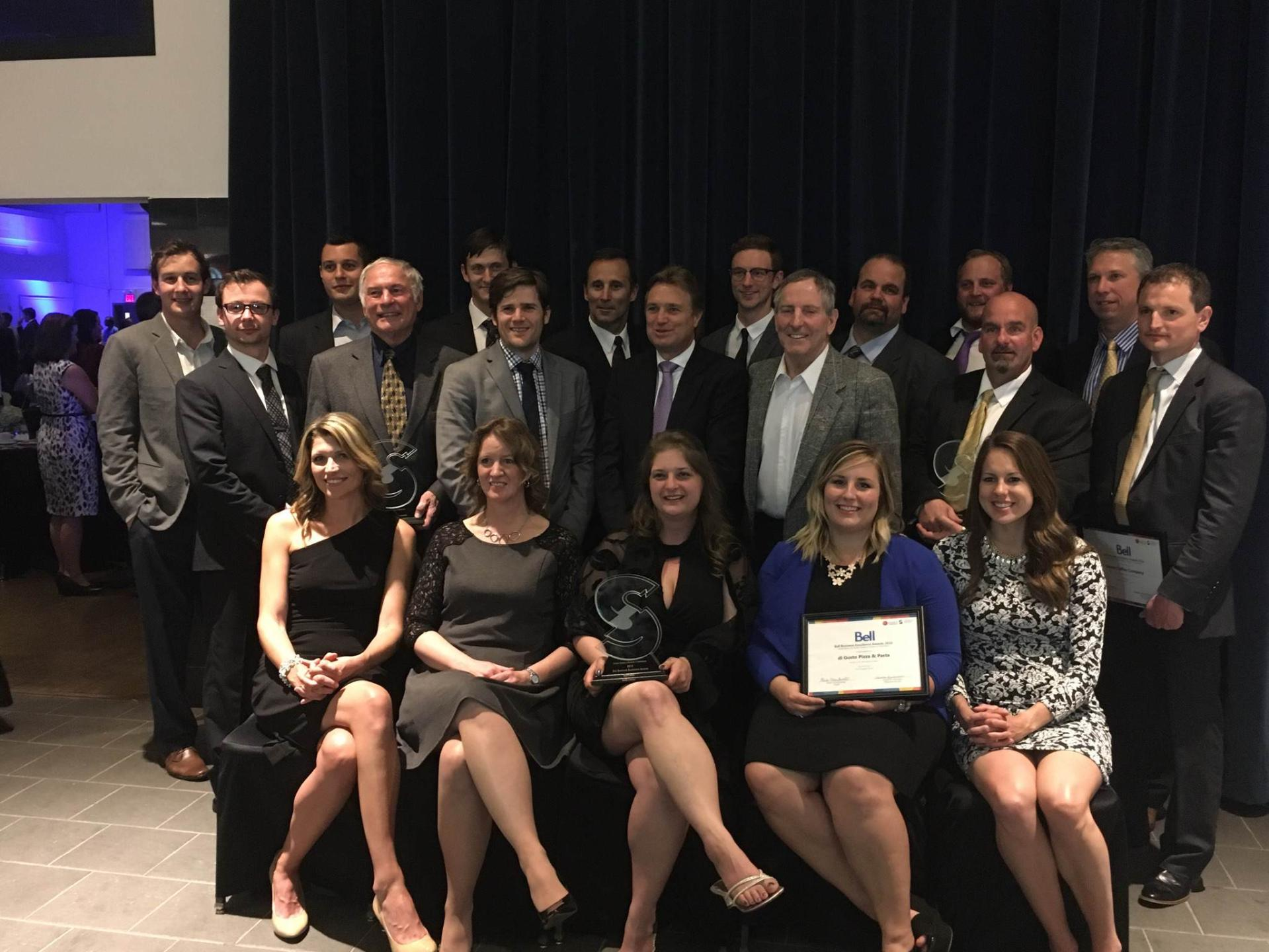 Congratulations To Our 2016 Bell Business Excellence Award